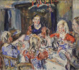 Familie Frank im Advent 1935